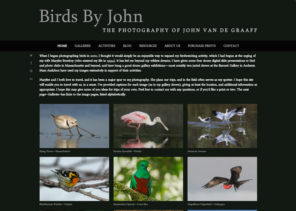 Screenshot Birds By John Home